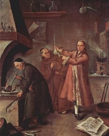 алхимия в европе