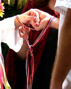 Наузы, магия узлов, узел бракосочетающихся